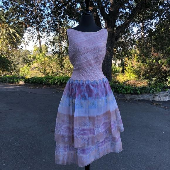 Mary McFadden Dresses & Skirts - Mary McFadden Vintage 80's Fourtuny Pleated Dress